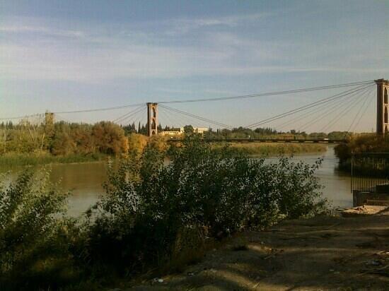 Deir Ezzor, Syria: الجسر المعلق