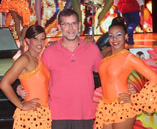 Iberostar Grand Hotel Bavaro: Con bailarinas del show