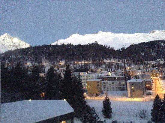 Club Med Saint Moritz Roi Soleil: Outside the window