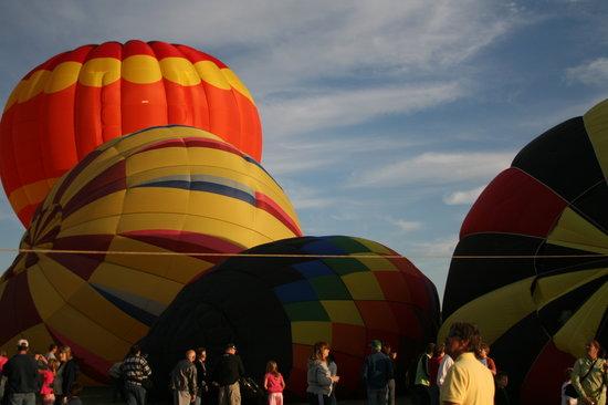 Equniox Balloons: Adirondack Balloon Festival, Glens Falls, NY