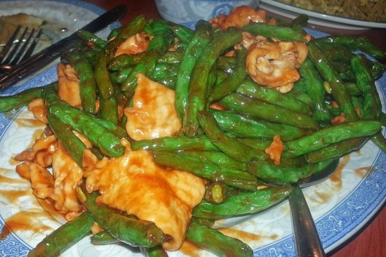 Lin's Garden: Lin's Chicken and String Beans