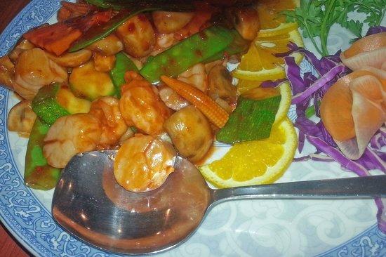 Lin's Garden: Lin's Shrimp and Scallops