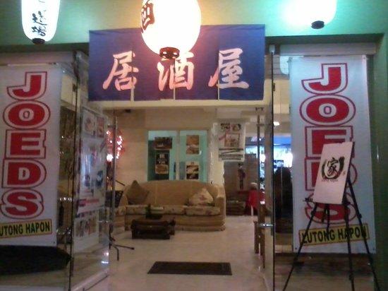 Joed's Lutong Hapon: Entrance