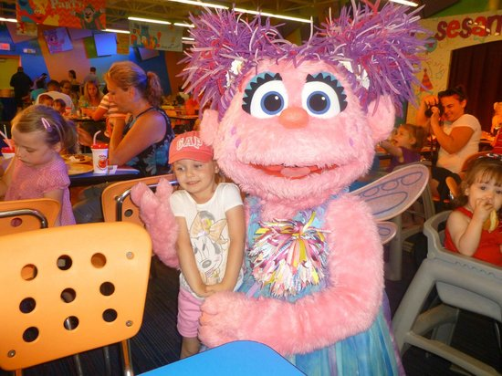 Sesame Place: Abby