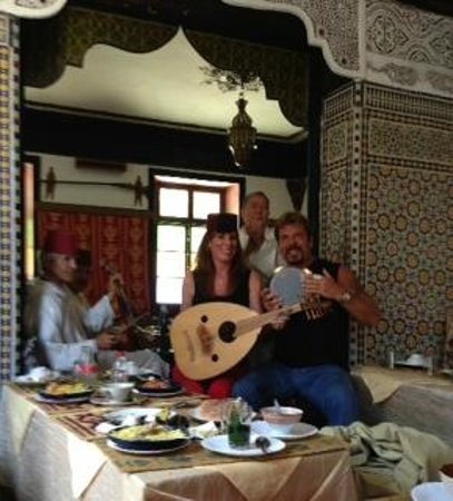 Majid Ben Rabah  Tours: Lunch and music in Morocco
