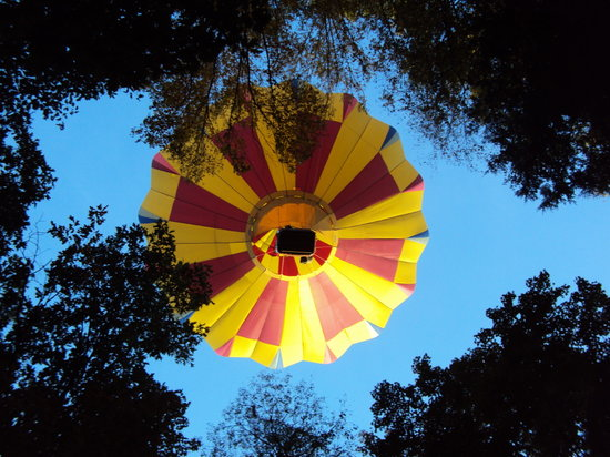 Equniox Balloons: Balloon from below