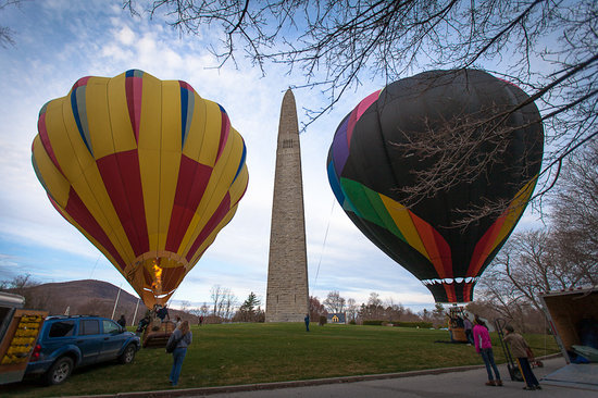 Equniox Balloons: Bennington Monument Launch in Vermont