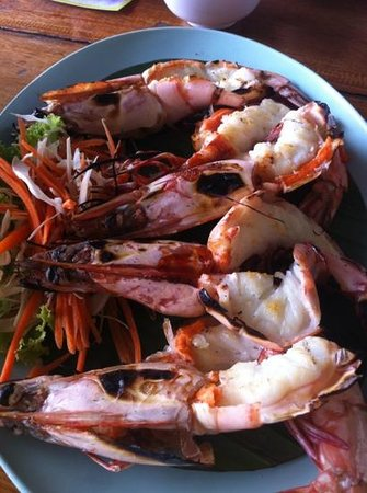 Keang Lay: grilled shrimp - yummy yummy!