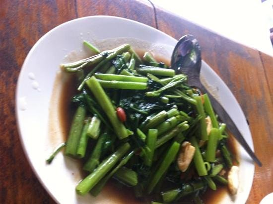 Keang Lay: fried Morning Glory - good taste!