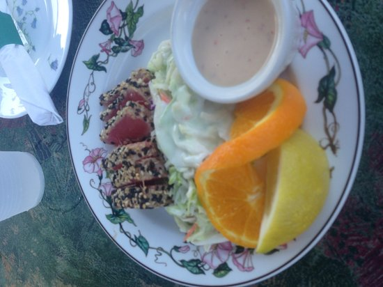 Shibley's at the Pier: Tuna appetizer