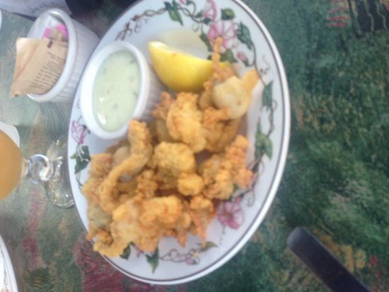 Shibley's at the Pier: Fried clams