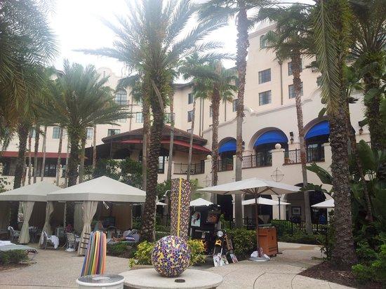 Hard Rock Hotel at Universal Orlando: pool area