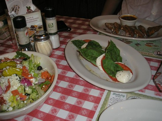 Buca di Beppo: table view