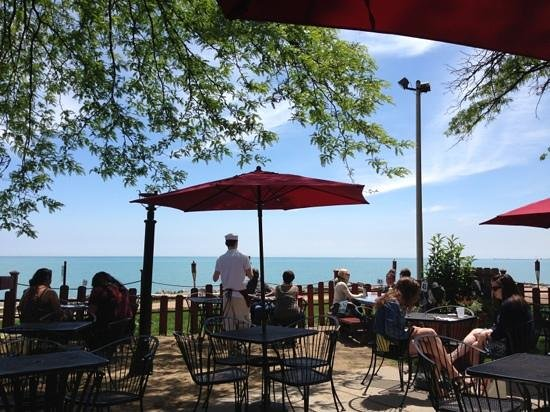 The Waterfront Cafe Chicago Edgewater Beach Menu