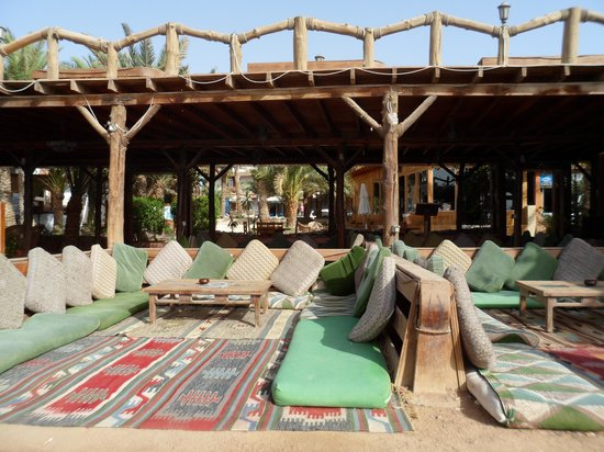 Acacia Dahab Hotel: Restaurant Outdoor Seating Area