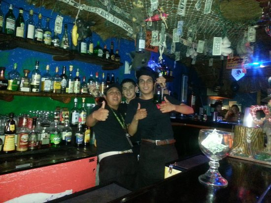 TIKI TOK BAR: Our fabulous bartenders!