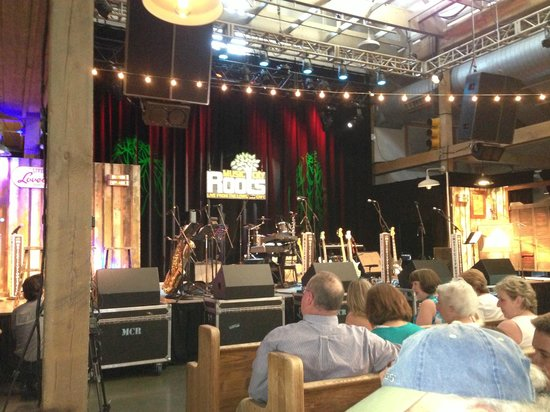 Music City Roots - before the show