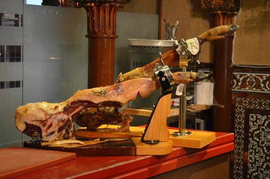 Pork Leg For Slicing Ham Picture Of Museo Del Jamon