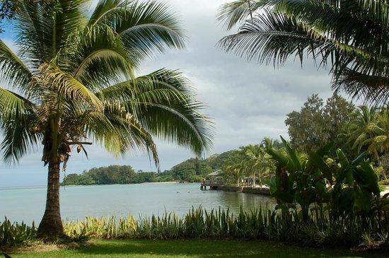 Warwick Le Lagon - Vanuatu: View from waterfront villa gardens