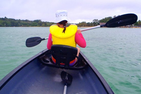 Warwick Le Lagon - Vanuatu: Canoeing on the lagoon