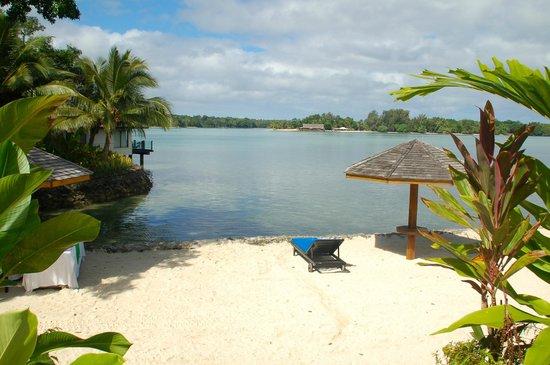 Warwick Le Lagon - Vanuatu: Lagoon waterfront view of Erakor Island