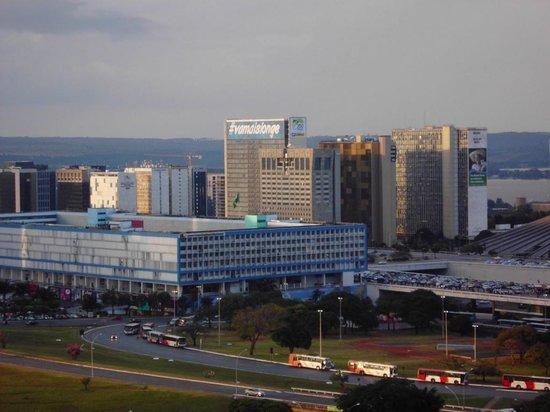 St Paul Plaza Hotel: Vista da sacada