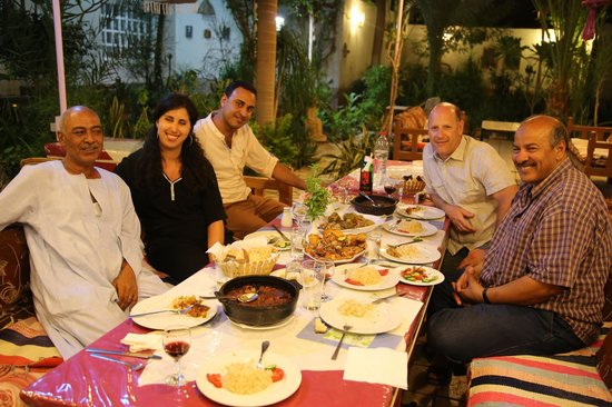 Amon Hotel Luxor: Sublime diner in excellent company