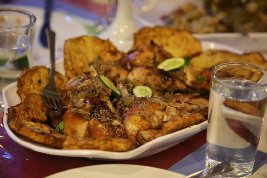 Amon Hotel Luxor: Typical food