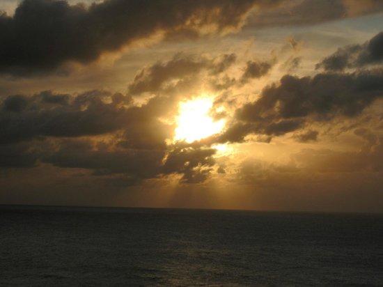 Sunset from the St. Regis Bar