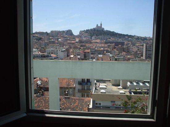 BnB Les Amis de Marseille : 部屋からの眺望
