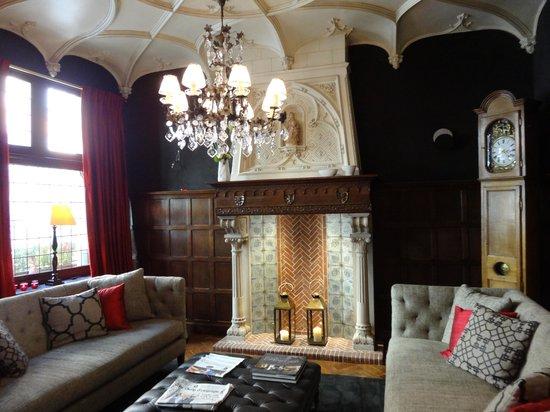 Hotel Prinsenhof Bruges: ロビー