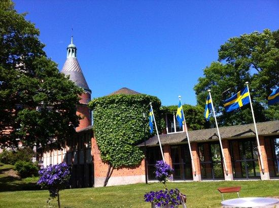 Var Gard Saltsjobaden: Garden seeting area