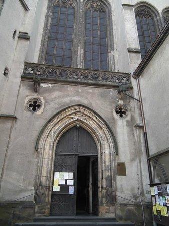 St. Wenceslas Cathedral: боковой вход