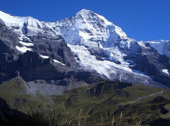 Grindelwald, Swiss: Blick über die kleine Scheidegg
