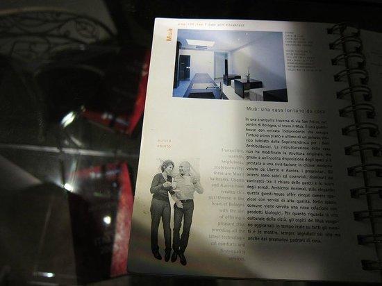 Mua': MUA was mentioned in a design magazine