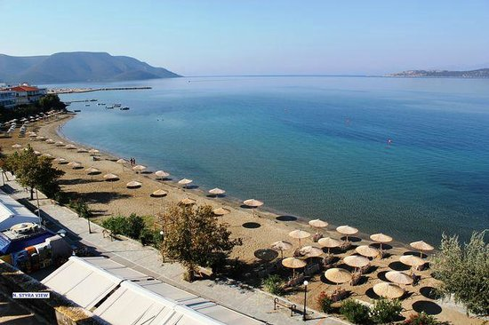 Nea Styra, Greece: AKTEON HOTEL BEACH