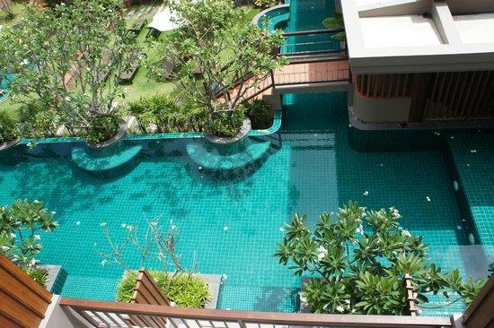 Ayrest Hua Hin Hotel: view from 3rd floor room