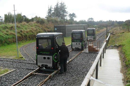 Railcruising: Ready to go - follow the leader