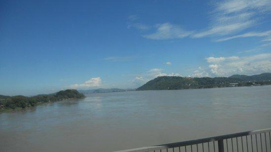Saraighat Bridge: view of The Mighty Brahmaputra