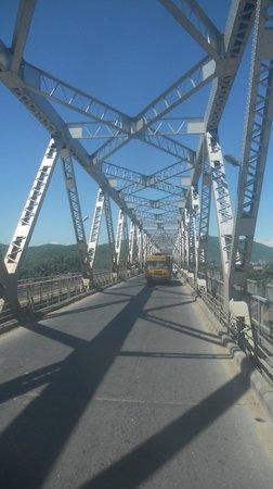 Saraighat Bridge: The Road