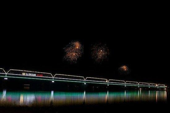 Saraighat Bridge: night view
