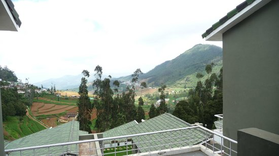 Sabol Holiday Resorts: View from the first floor balcony