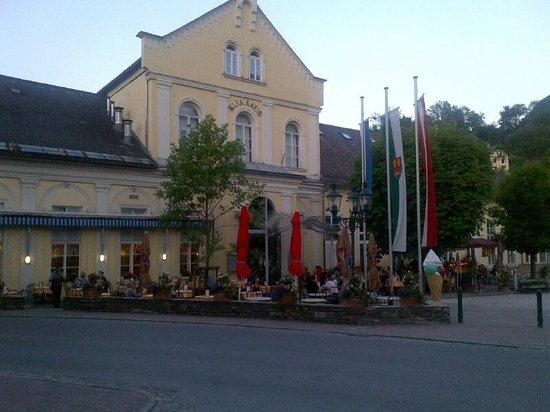 SPA Hotel Erzherzog Johann: en face de l'hôtel