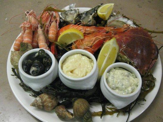 La-Baule-Escoublac, Frankrig: l'assiette de la mer