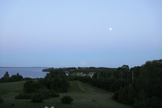 Gray Gables Bed and Breakfast: Very large full moon looking over the property.