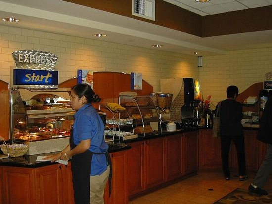 Holiday Inn Express San Francisco Airport-North : breckfast