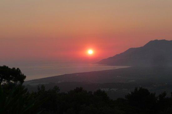 The Hotel Patara Viewpoint: Patara sunset