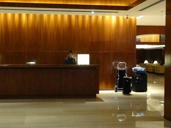 Great Lobby And Great Front Desk Service Picture Of
