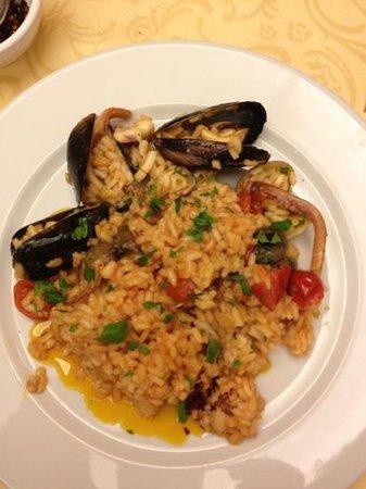 Dolce Sicilia: seafood risotto