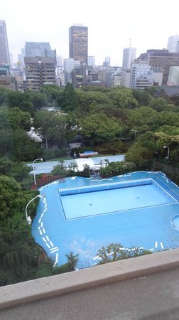 Tokyo Prince Hotel: View from room